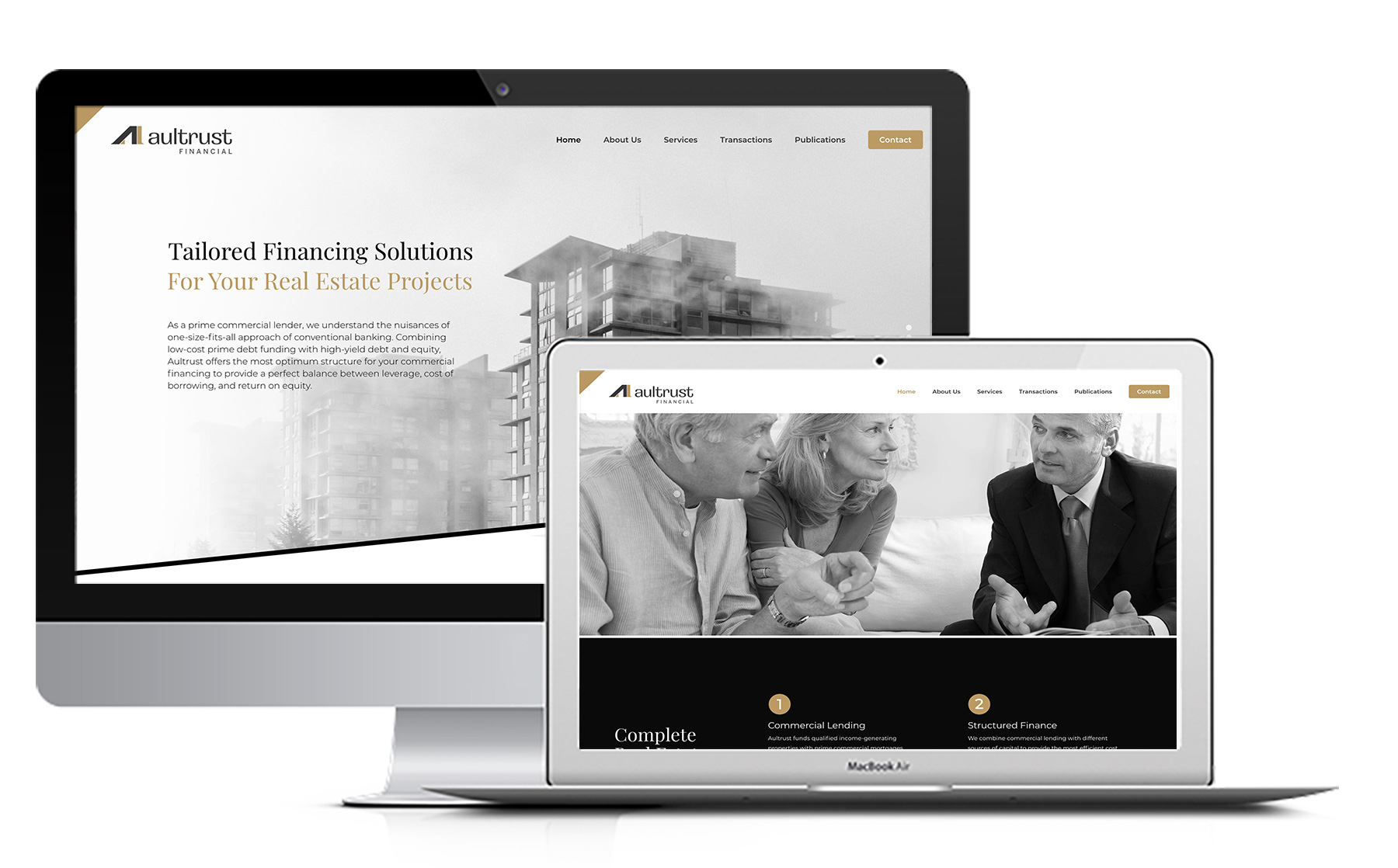 Altrust Website By Boltis